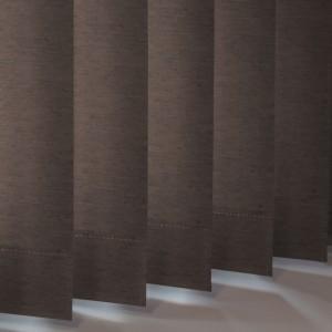 Style Studio Linenweave Espresso Vertical Blind