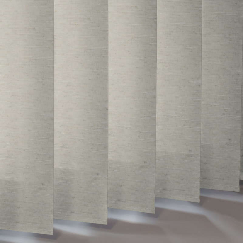 Silver Vertical Blinds Linenweave Window Blinds Style