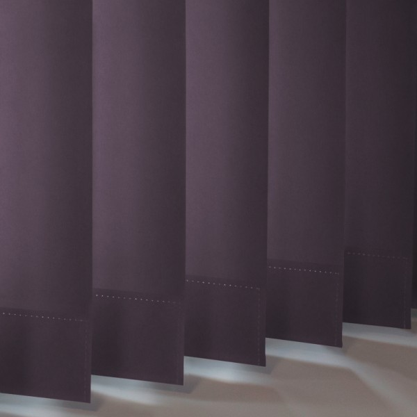 Style Studio Palette Mulberry Vertical Blind