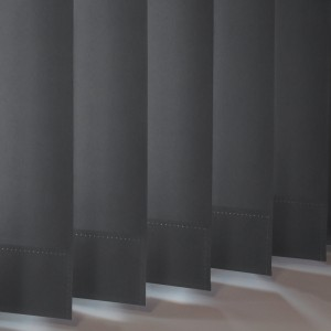 Style Studio Palette Charcoal Vertical Blind