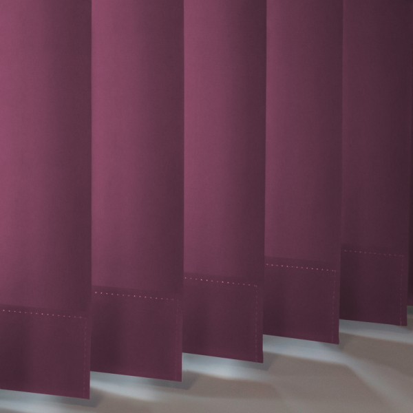 Style Studio Palette Grape Vertical Blind
