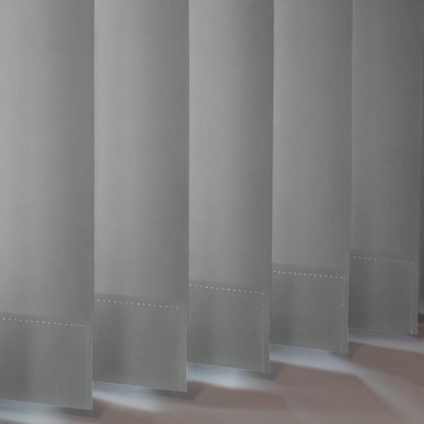 Style Studio Palette Grey Vertical Blind