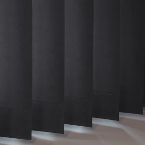 Style Studio Odessa Black Vertical Blind