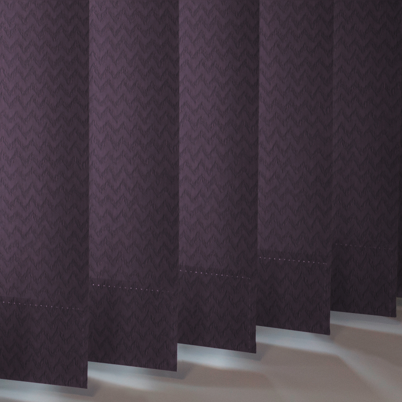 Otto Mulberry Vertical Blind Style Studio