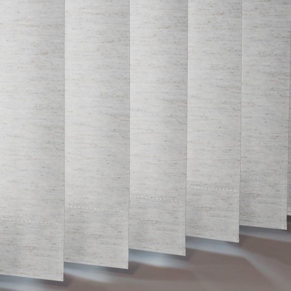 Style Studio Linenweave Moonstone Vertical Blind