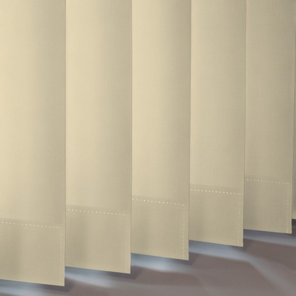 Style Studio Atlantex Beige Vertical Blinds