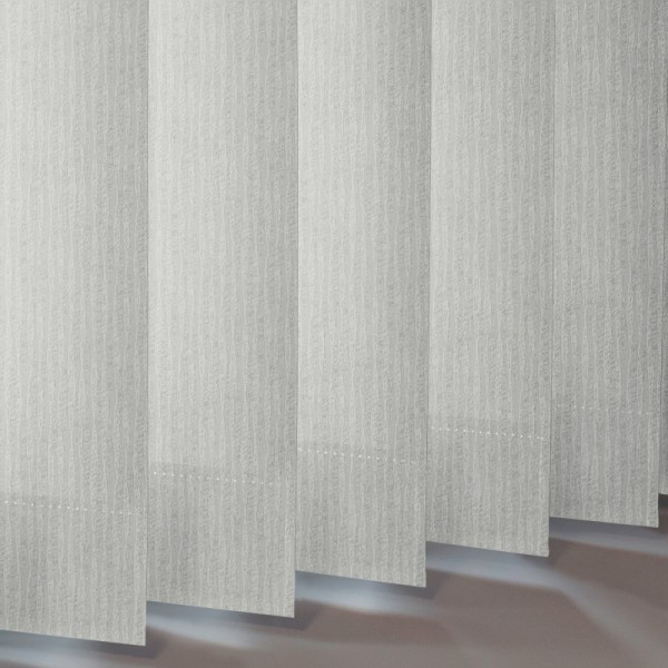Style Studio Ribbons asc White Vertical Blind