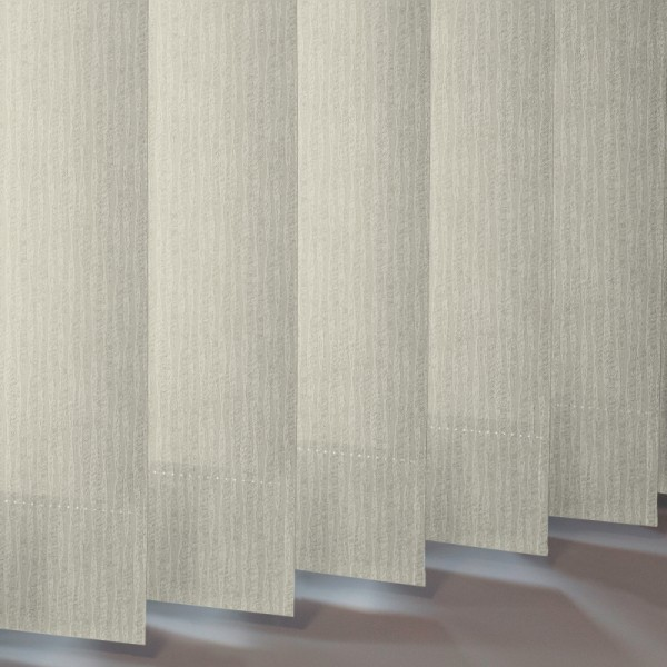 Style Studio Ribbons asc Cream Vertical Blind