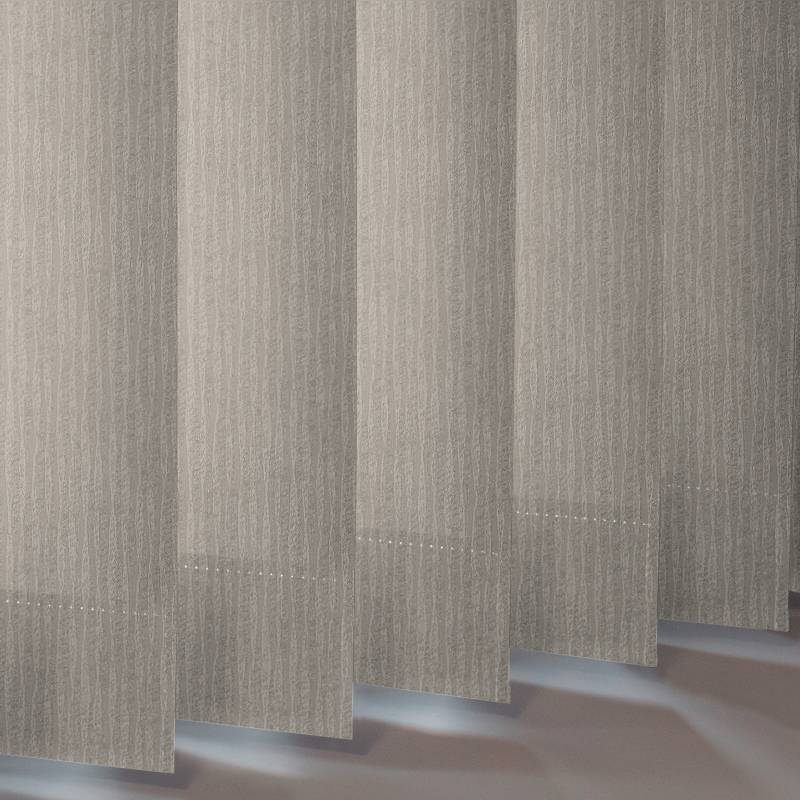 Ribbons Asc Fawn Vertical Blind Bathroom Blind Style