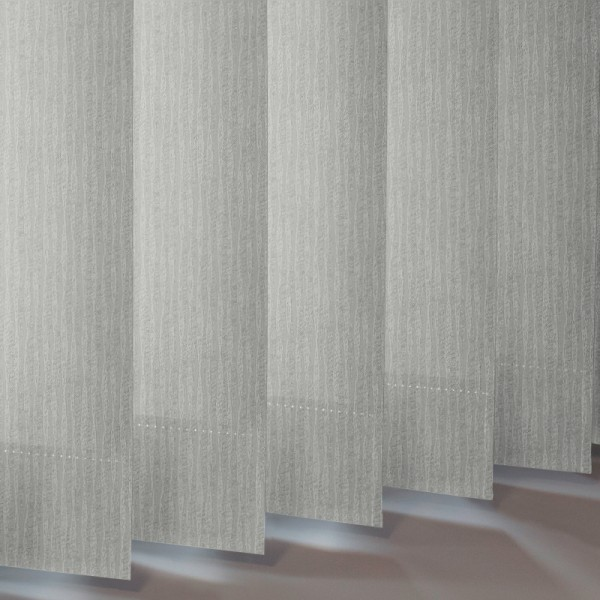 Style Studio Ribbons asc Silver Vertical Blind