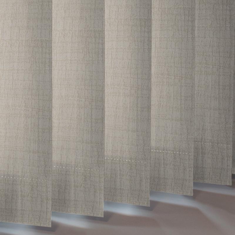 Woodbark Asc Beech Vertical Blind Style Studio