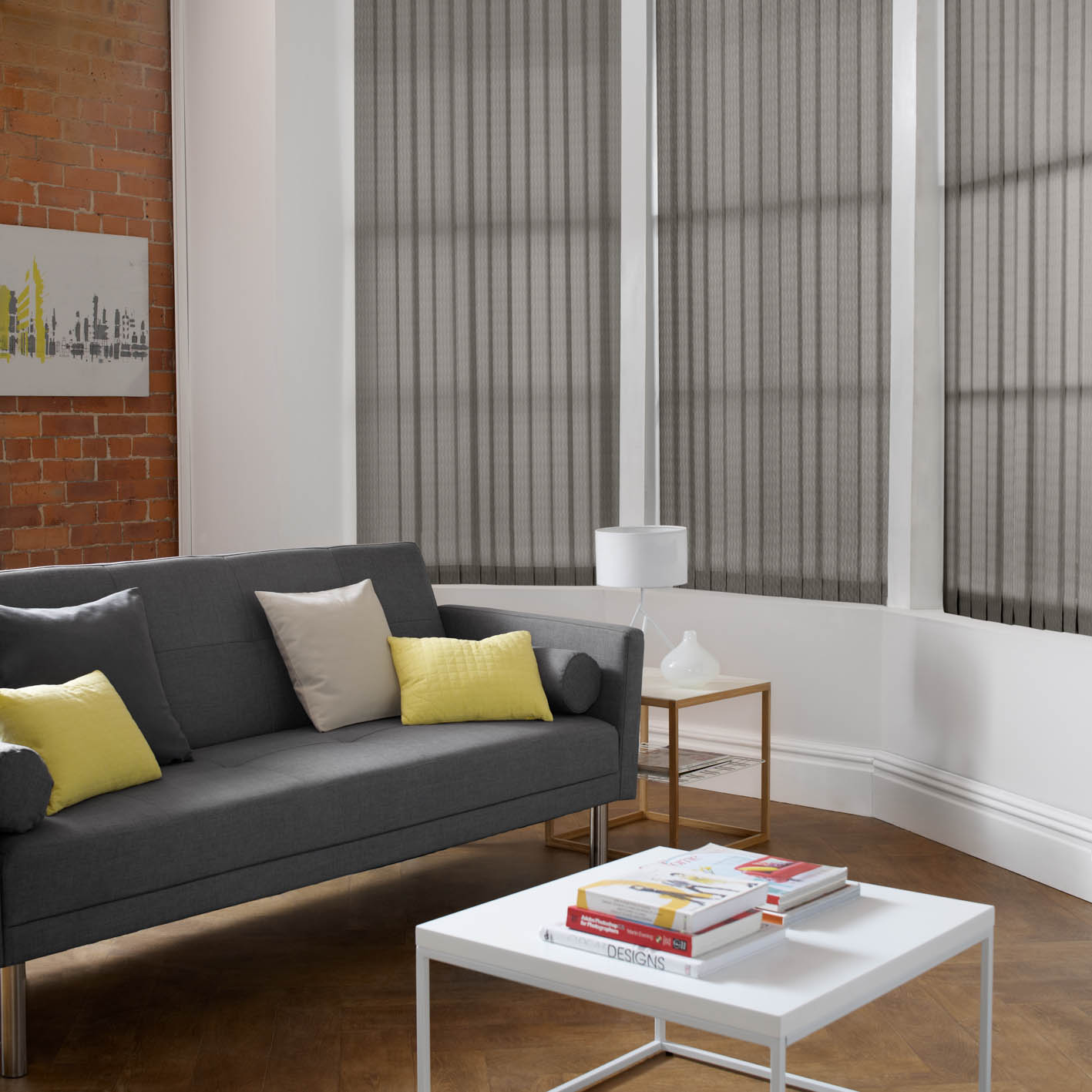 Vertical Blinds A Cool Choice For Summer