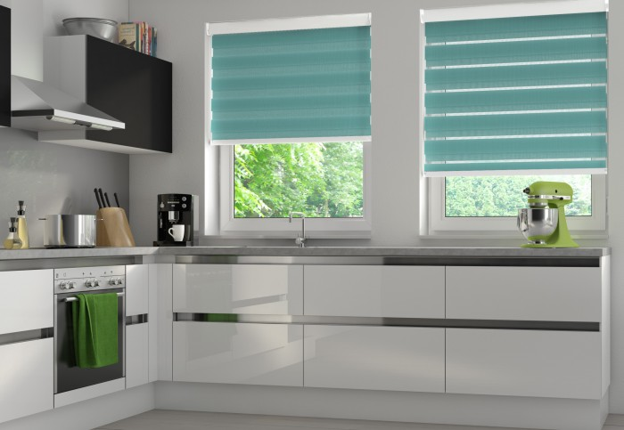 Essence Teal Kitchen