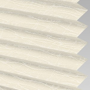Style Studio Luxe asc Vanilla Pleated Blind