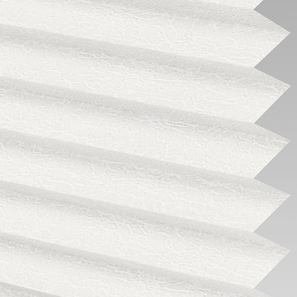 Style Studio Sicily asc White Pleated Blind