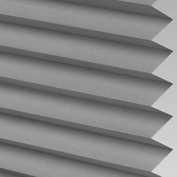 Style Studio Galaxy asc Blackout Concrete Pleated Blind