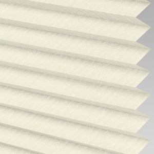 Style Studio Ribbons asc Micro Cream Pleated Blind
