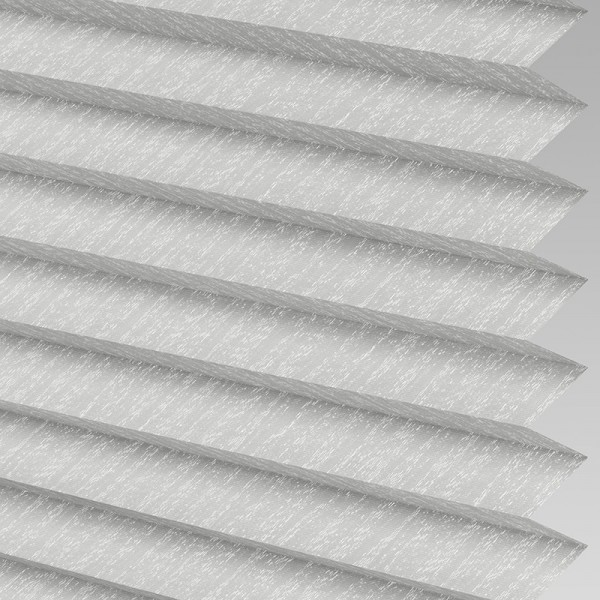Style Studio Ribbons asc Micro Silver Pleated Blind