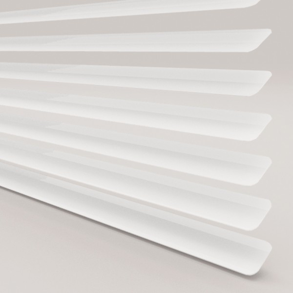 Style Studio Cotton White Venetian Blind 25mm