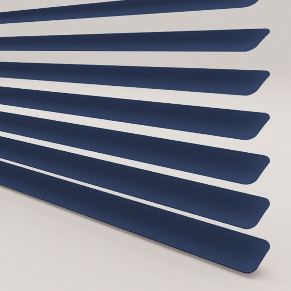 Style Studio Navy Venetian Blind 25mm