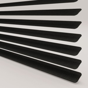 Style Studio Hammered Black Venetian Blind 25mm