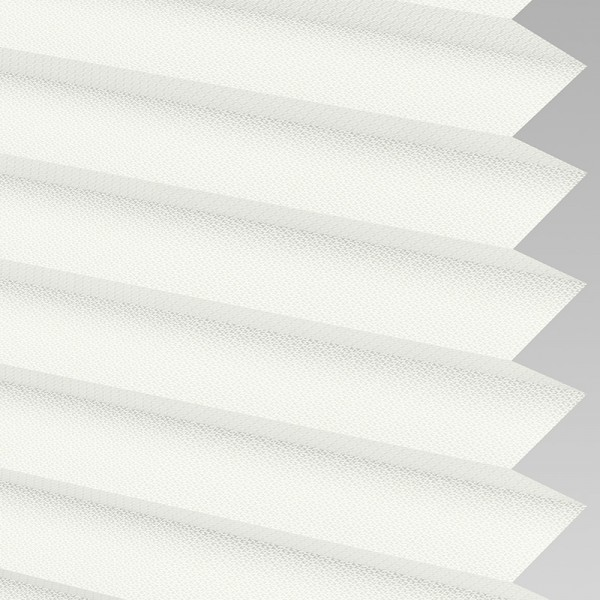 Style Studio Calia asc FR White Pleated Blind
