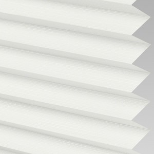 Style Studio HARLOW asc White Pleated Blind