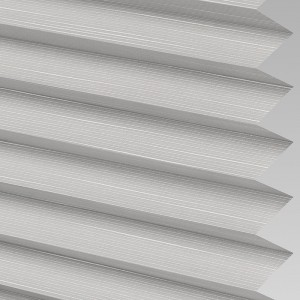 Style Studio HARLOW asc Silver Pleated Blind