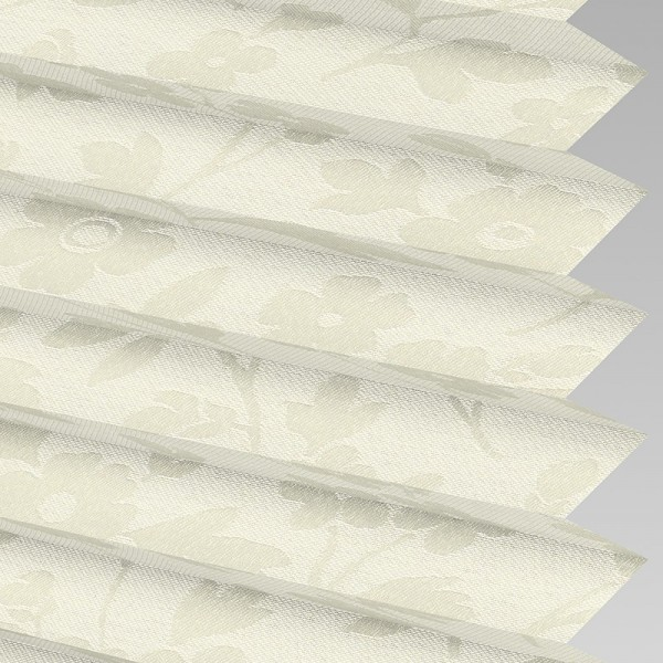 Style Studio CHARLOTTE asc Vanilla Pleated Blind