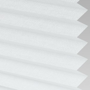 Style Studio HAMPTON White Pleated Blind