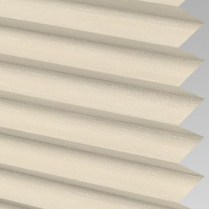 Style Studio SILKETTE asc Ivory Pleated Blind