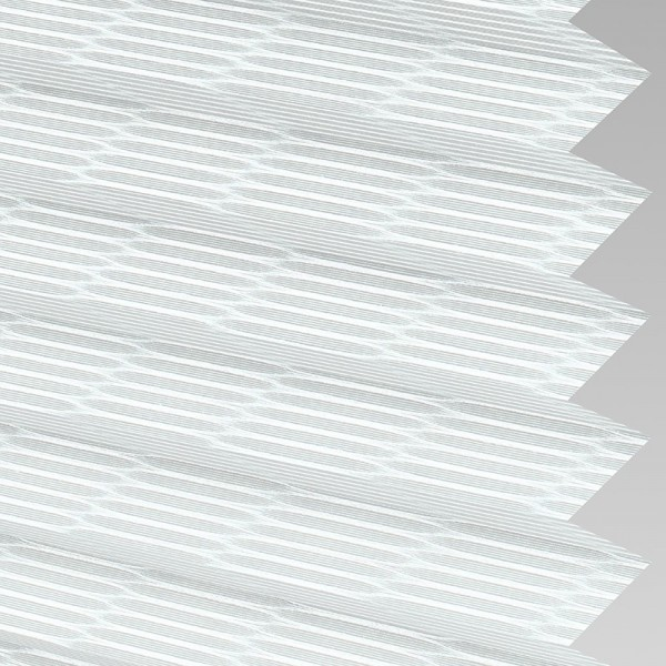 Style Studio REED White Pleated Blind
