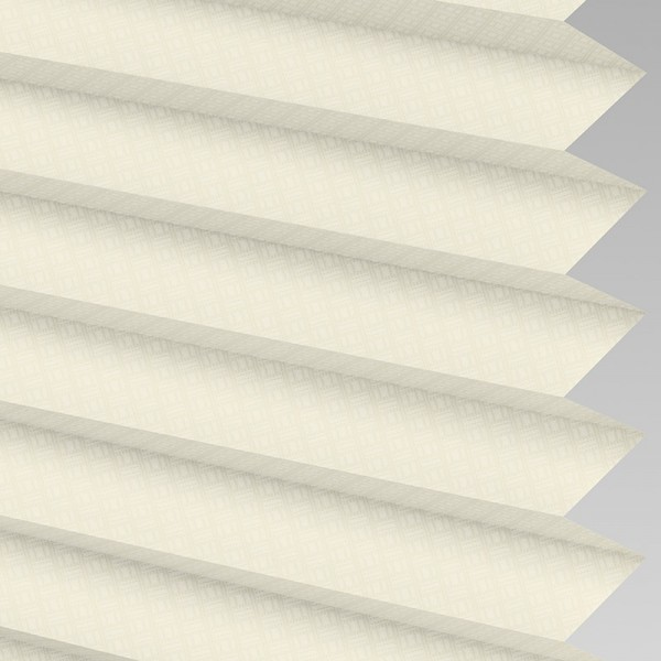 Style Studio GRID Cream Pleated Blind