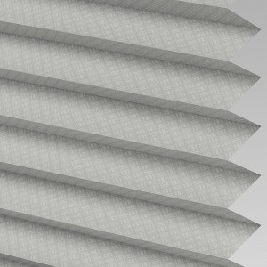 Style Studio GRID Silver Pleated Blind
