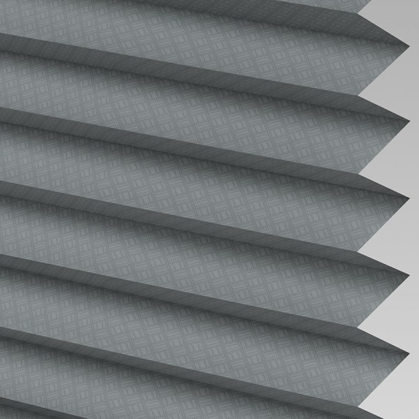 Style Studio GRID Graphite Pleated Blind