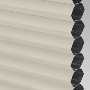 Style Studio HIVE BLACKOUT FR Cream Cellular Blind