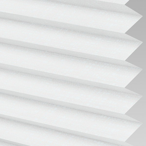 Style Studio HELIX White Pleated Blind