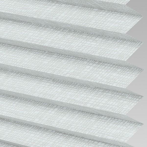 Style Studio HELIX Silver Pleated Blind