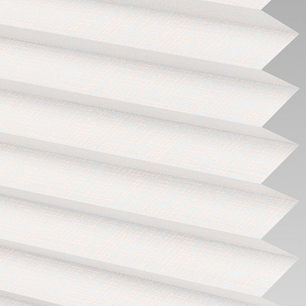 Style Studio HELIX Pink Pleated Blind