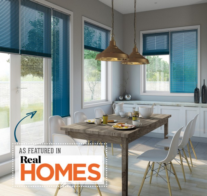 Real Homes_Teal KitchenDiner