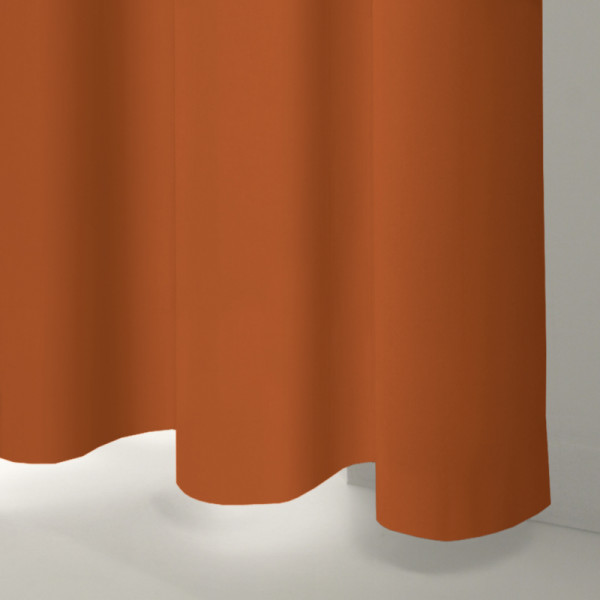 Style Studio Oasis Orange Curtain