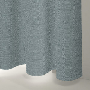 Style Studio Rattan Powder Blue Curtain