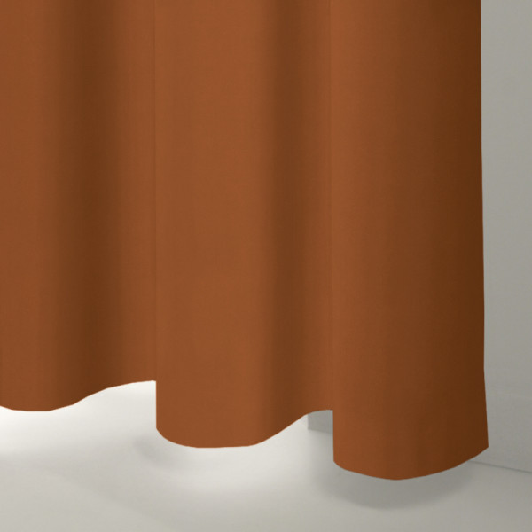 Style Studio Glamour Rust Curtain