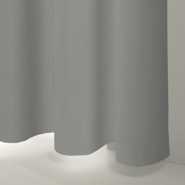 Style Studio Glamour Silver Curtain