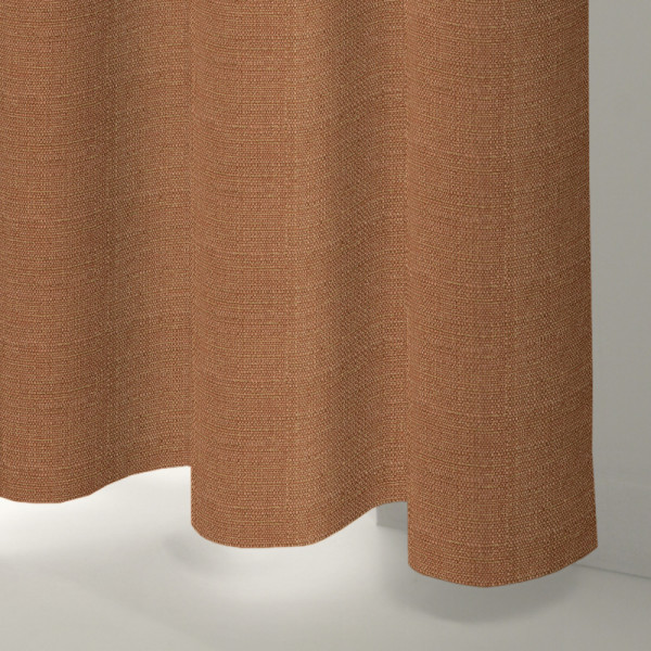 Style Studio Rattan Rust Curtain