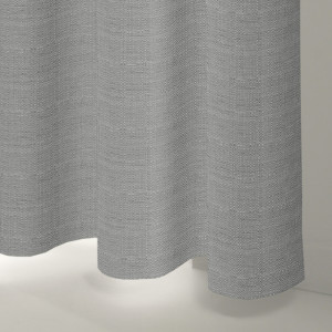 Style Studio Rattan Silver Curtain