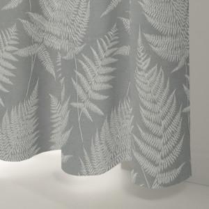 Style Studio Farrah Silver Curtain