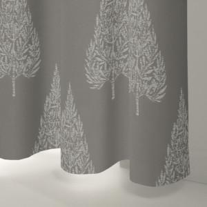 Style Studio Alette Silver Curtain