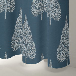 Style Studio Alette Navy Curtain