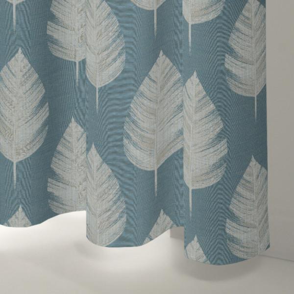 Style Studio Everett Teal Curtain
